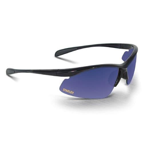 Stanley Half Frame Eyewear Eyewear Blue Mirror
